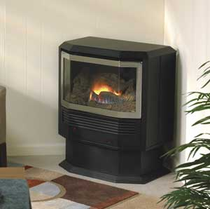 Empire Mantis free standing gas or lp stove